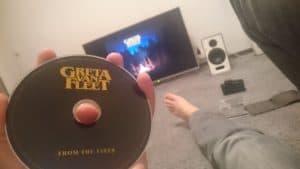 chillout z albumem Greta van fleet