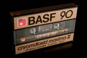Kaseta BASF chromdioxid maxima II