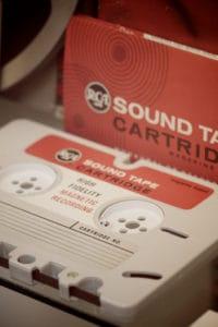 Kaseta RCA - sound tape cartridge, ojciec kasety kompaktowej
