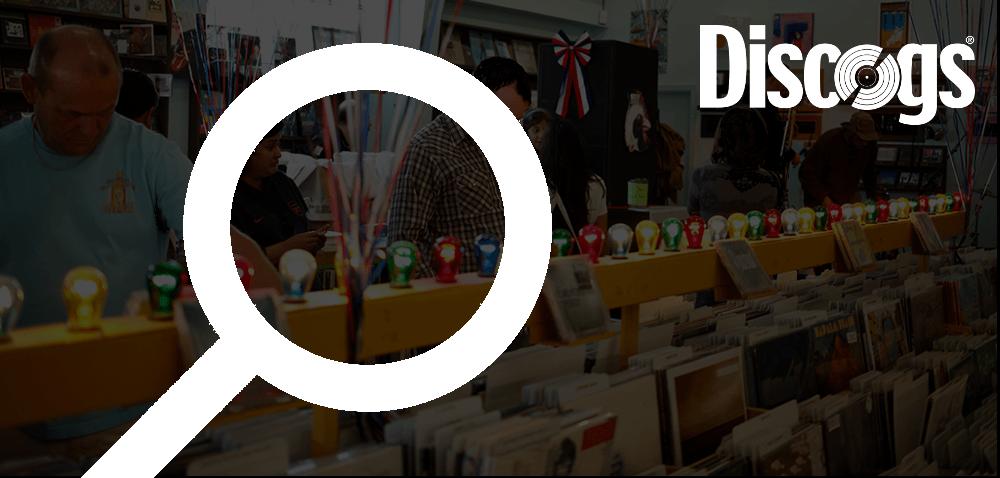 Sprzedaż muzyki na Discogs statystyki