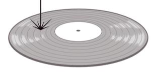 Laserowe wycinanie matrycy HD Vinyl