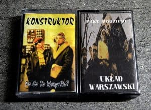 Układ Warszawski nielegal kaseta