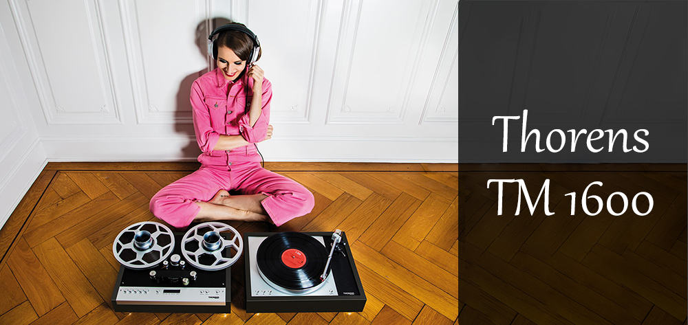 Thorens TM 1600 szpula
