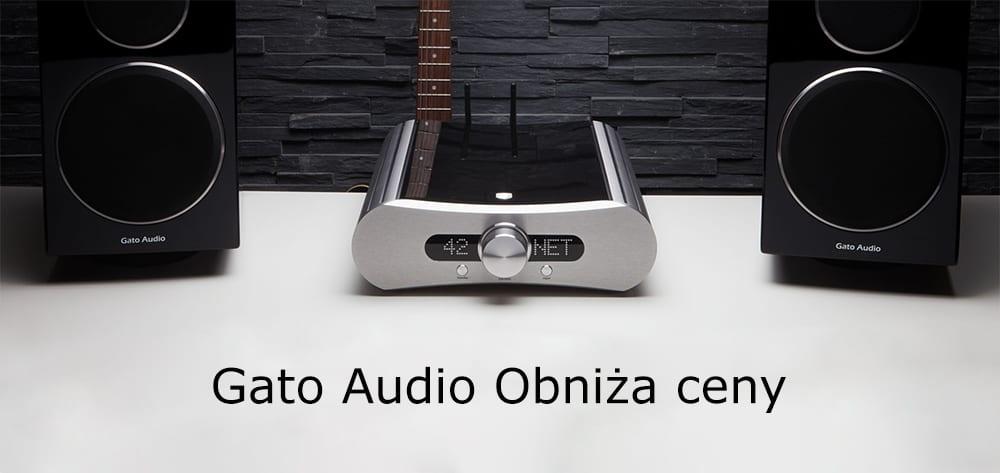 Gato Audio obniża ceny sprzętu o 40%
