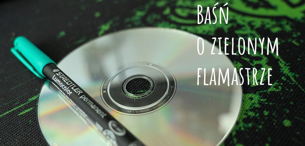 Mit o flamastrze: czy zielony flamaster poprawia odczyt płyt CD?